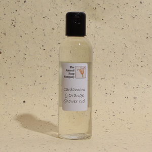 Cardamom & Orange shower gel, 200ml