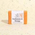 Cardamom and Orange guest soap, approx 50g
