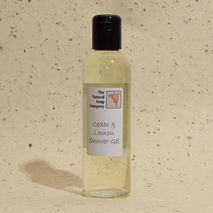 Cedar & Lemon shower gel, 200ml