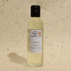 Cedar & Lemon hand wash, 200ml