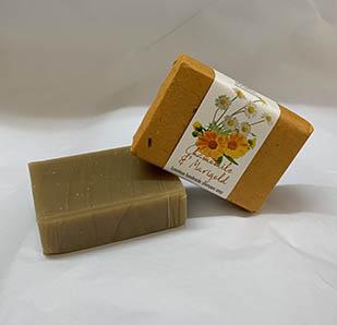 Chamomile & Marigold Shampoo soap bar, approx 100g
