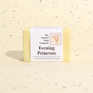 Evening Primrose guest soap, approx 50g