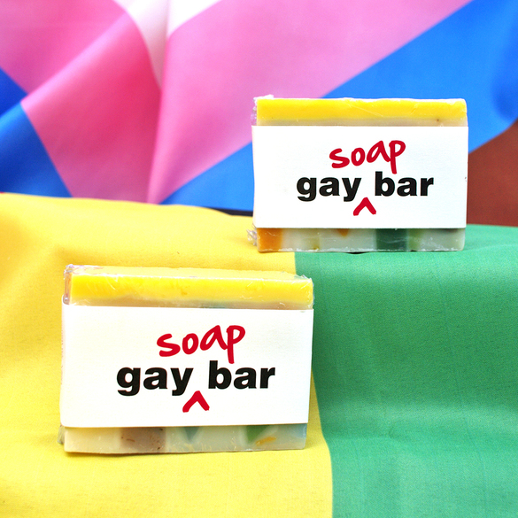 Gay Bar, 130g limited edition handmade soap