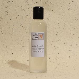 Grapefruit & Frankincense foam bath, 200ml
