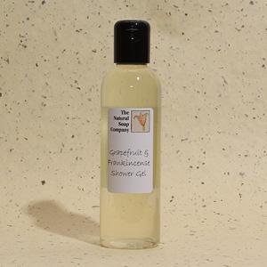 Grapefruit & Frankincense shower gel, 200ml