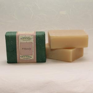 Hemp soap bar, approx 100g