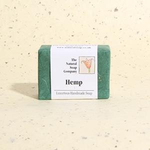 Hemp guest soap, approx 50g