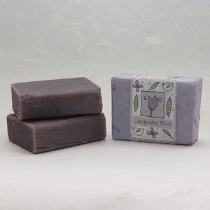 Lavender Plus soap bar, approx 100g