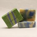 Mint Swirl soap bar, approx 100g