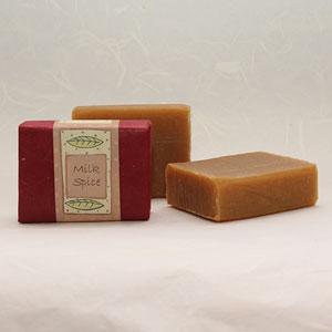 Milk Spice soap bar, approx 100g