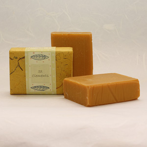 St Clements soap, approx 100g